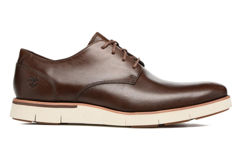 Chaussures à lacets Timberland Preston Hills Perf Ox Marron vue derrière