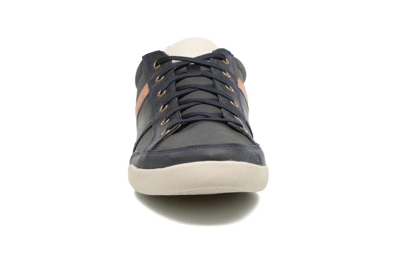 Baskets Timberland Splitcupsole Bleu vue portées chaussures