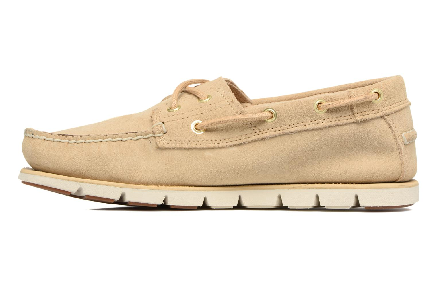 Chaussures à lacets Timberland Tidelands 2 Eye Beige vue face