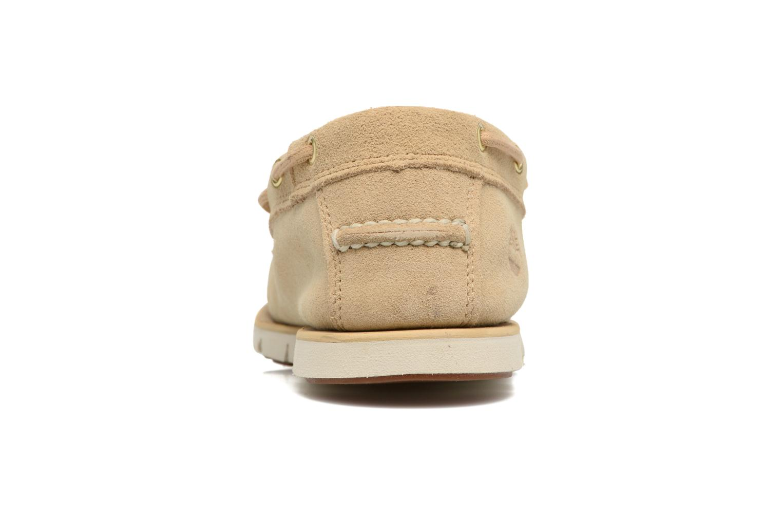 Chaussures à lacets Timberland Tidelands 2 Eye Beige vue droite