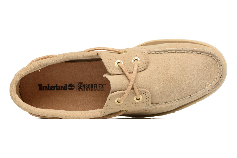 Chaussures à lacets Timberland Tidelands 2 Eye Beige vue gauche