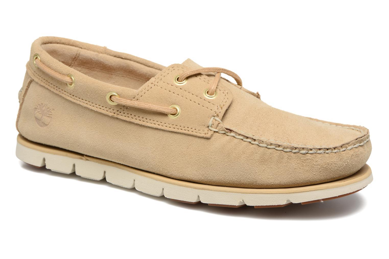 Chaussures à lacets Timberland Tidelands 2 Eye Beige vue détail/paire