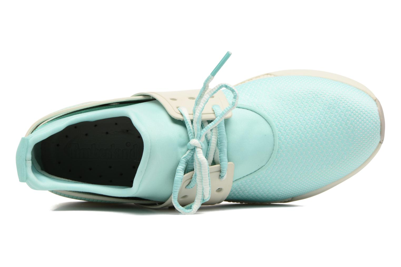 Sneaker Timberland Kiri Knitted W grün ansicht von links