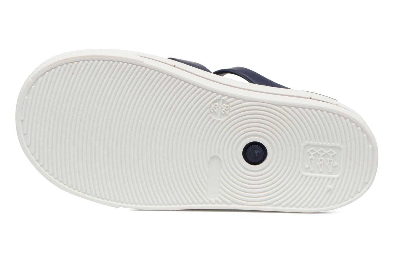 Sandales et nu-pieds SARENZA POP Romy Bleu vue haut