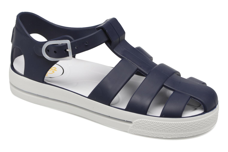 Romy bleu marine / blanc