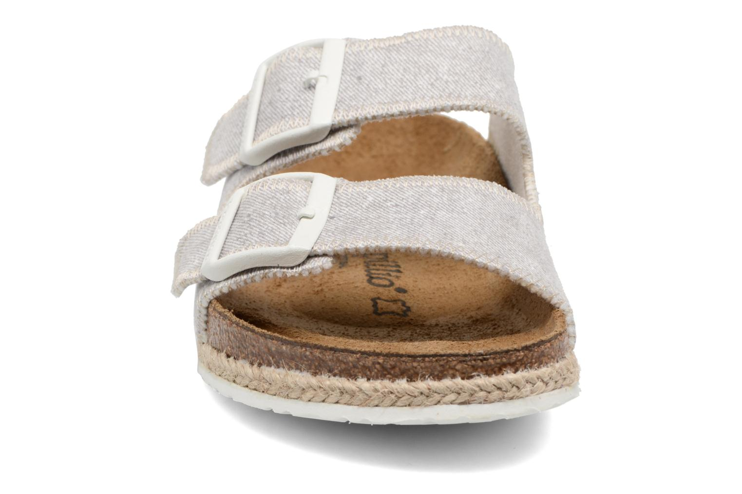 Wedges Papillio Arizona textile Grijs model