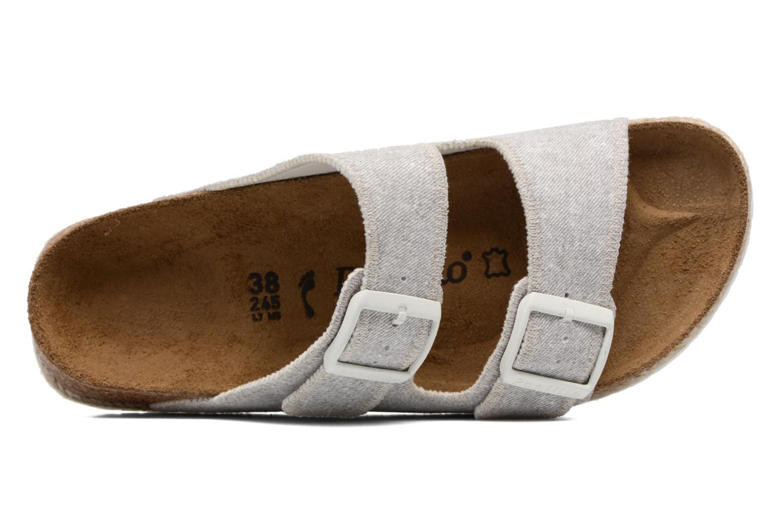Clogs & Pantoletten Papillio Arizona textile grau ansicht von links