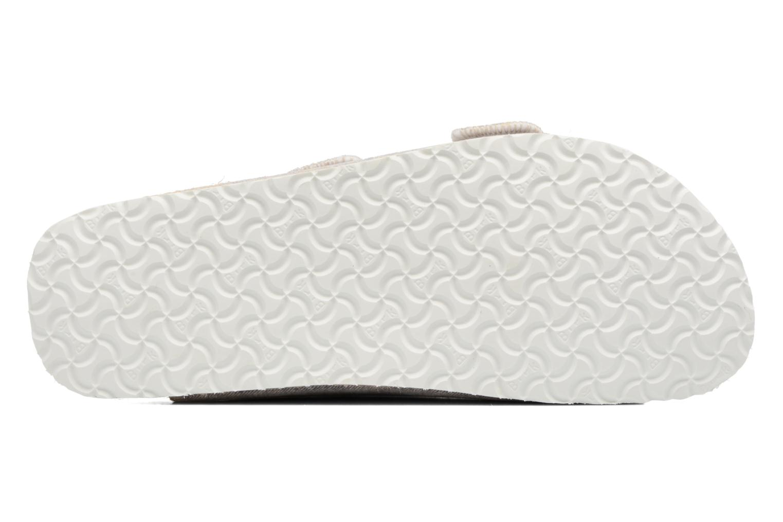 Clogs & Pantoletten Papillio Arizona textile grau ansicht von oben