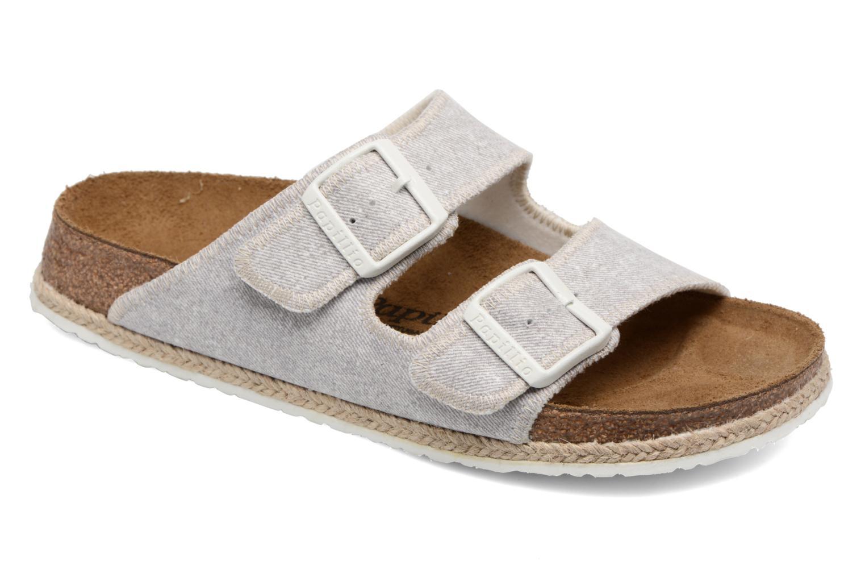 Clogs og træsko Papillio Arizona textile Grå detaljeret billede af skoene
