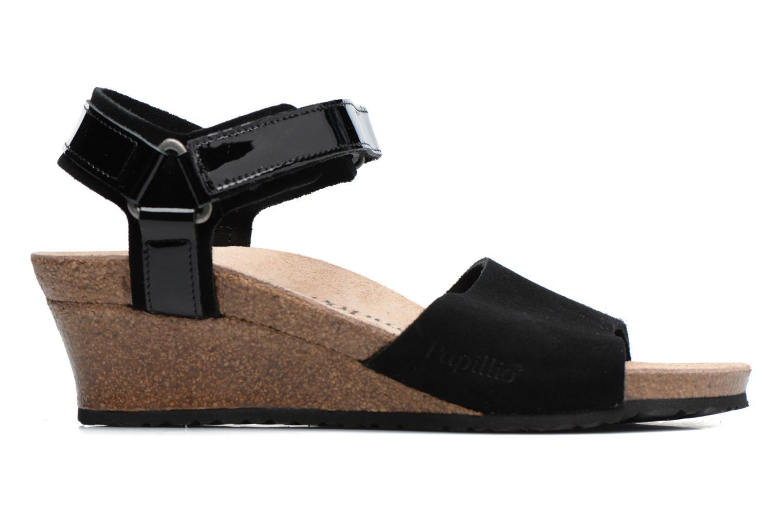 Sandalen Papillio EVE schwarz ansicht von hinten