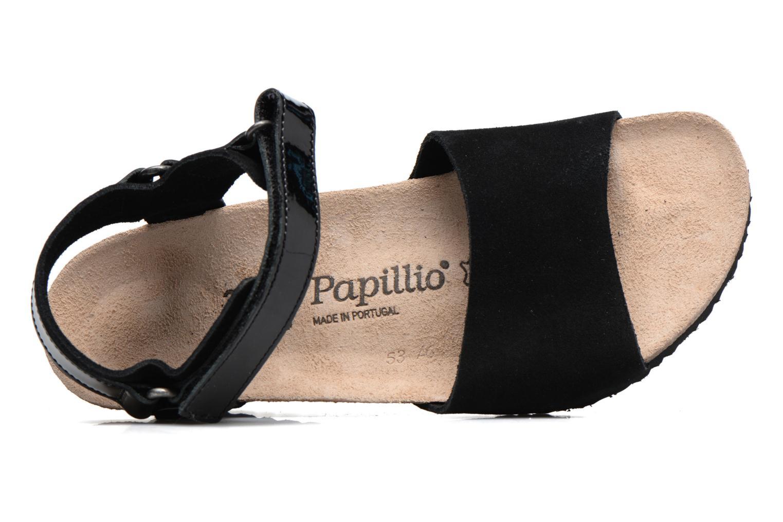Sandaler Papillio EVE Sort se fra venstre