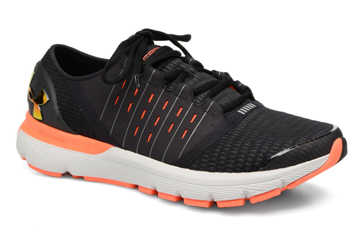 Sport shoes Under Armour Speedform Europa Black detailed view/ Pair view