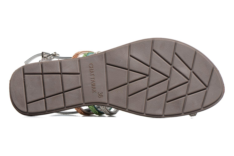 Sandali e scarpe aperte Chattawak Nina Verde immagine dall'alto