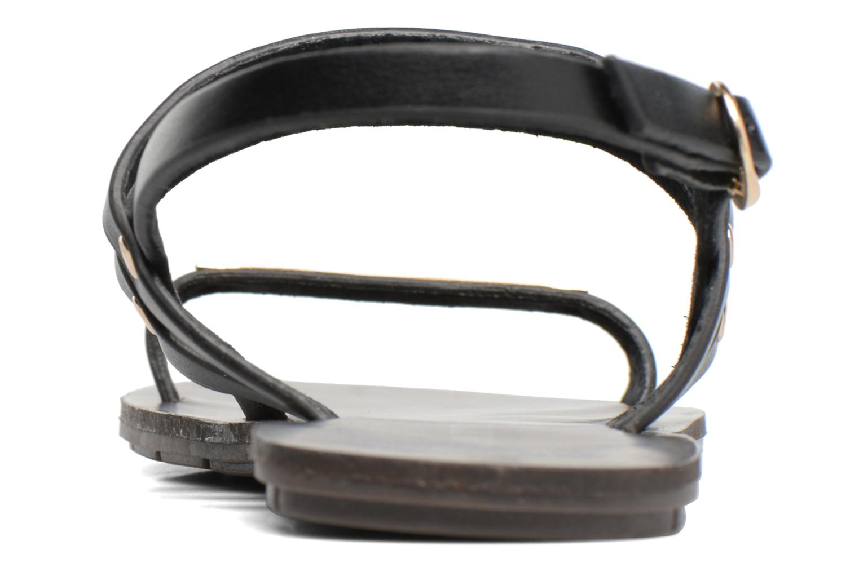 Sandales et nu-pieds Chattawak Lydie Noir vue droite