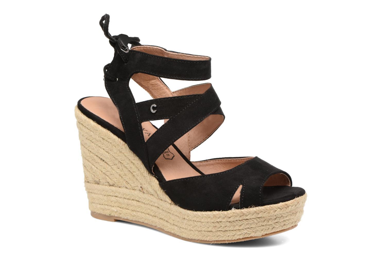 Sandales compensées Trieste Elizabeth Stuart en noir pour femme ... 6785f57430bd