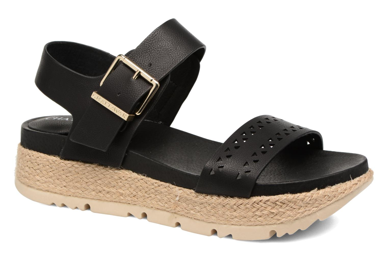 Sandales et nu-pieds Chattawak Justine Noir vue détail/paire