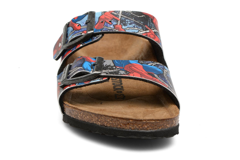 Sandales et nu-pieds Birkenstock Arizona  Birko Flor Multicolore vue portées chaussures