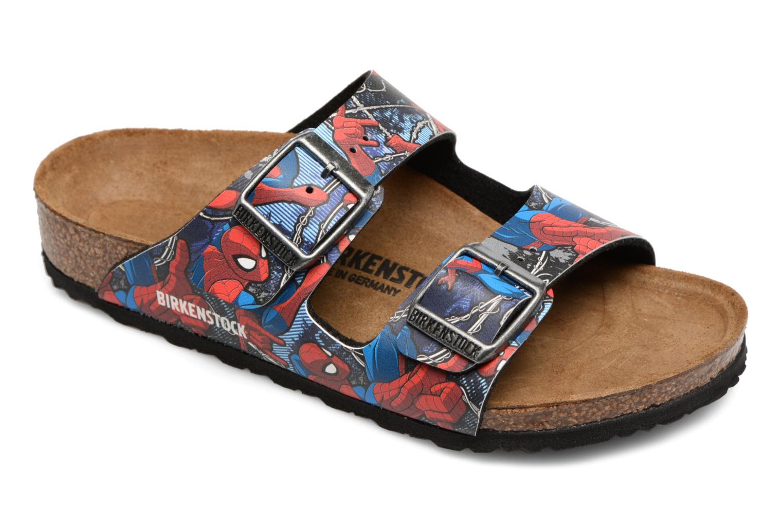 Sandales et nu-pieds Birkenstock Arizona  Birko Flor Multicolore vue détail/paire