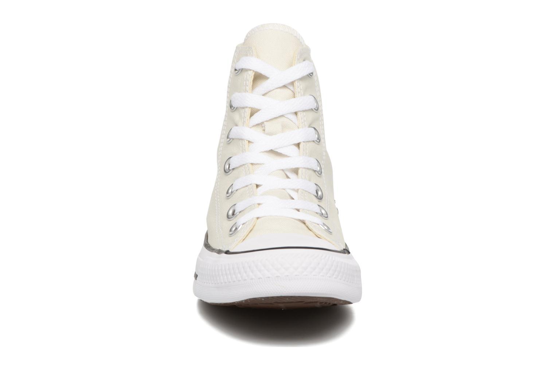 Baskets Converse Chuck Taylor All Star Hi Fresh Colours W Beige vue portées chaussures