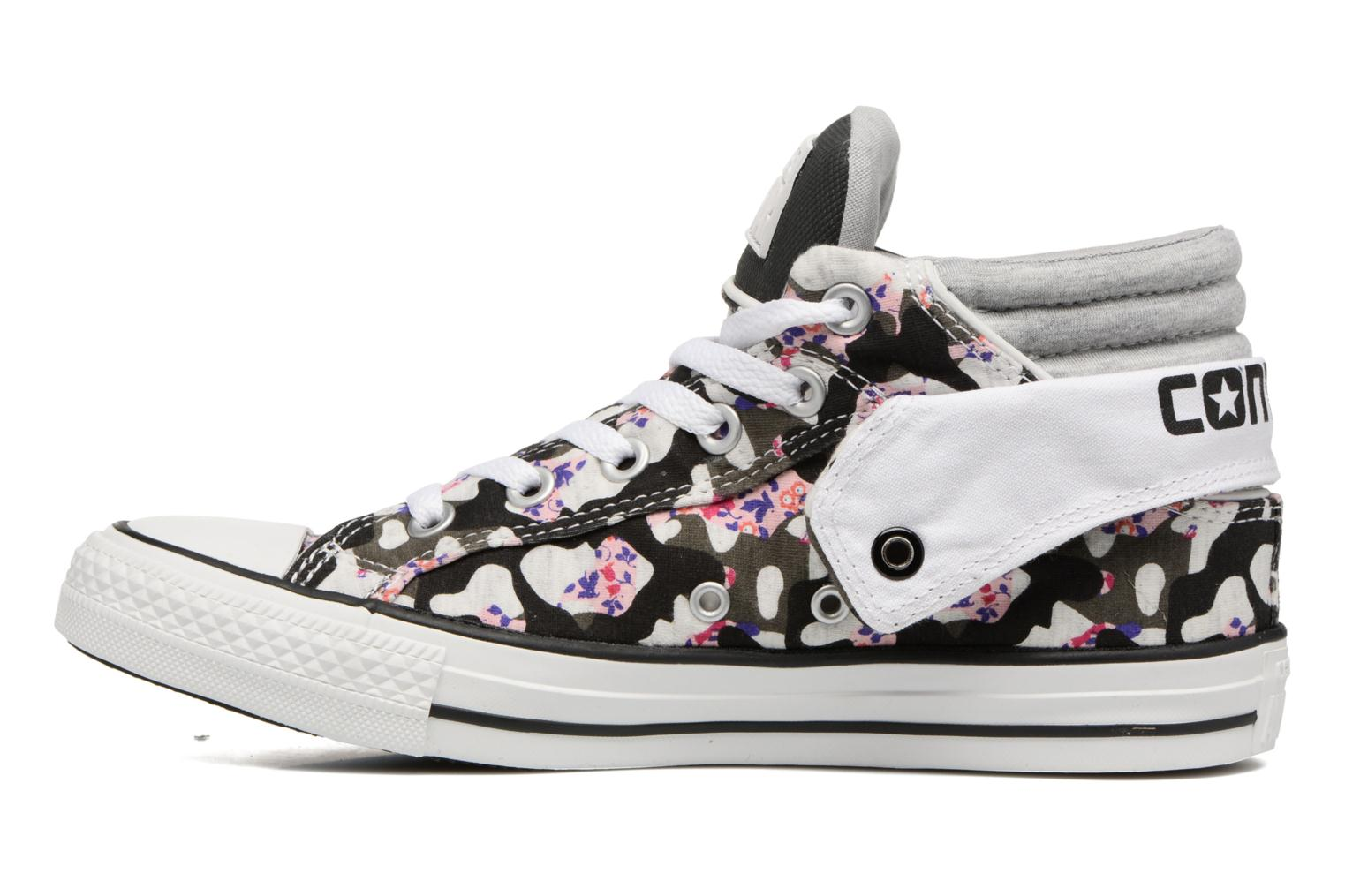 Baskets Converse Chuck Taylor Pc Layer Mid Hi Top Blanc vue face