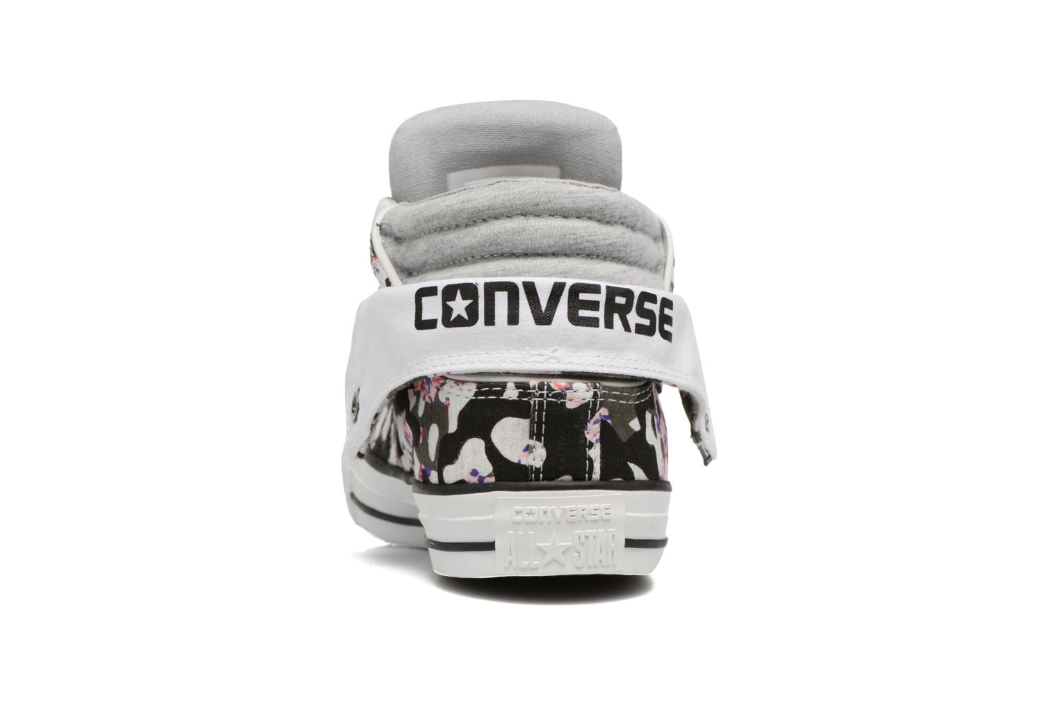 Deportivas Converse Chuck Taylor Pc Layer Mid Hi Top Blanco vista lateral derecha