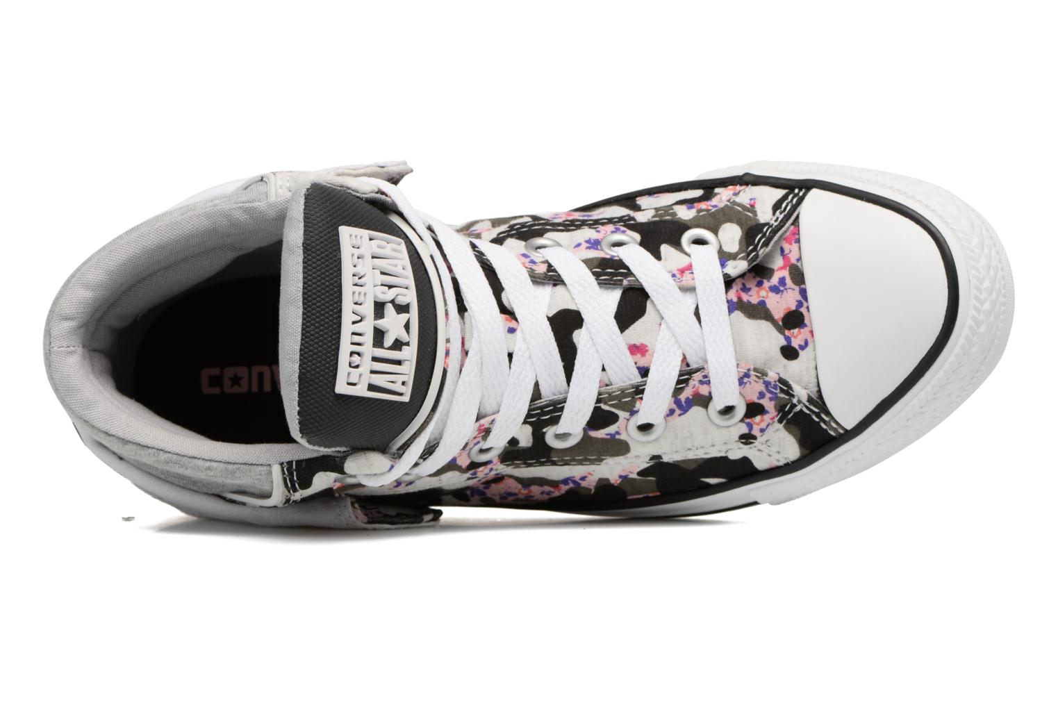 Sneakers Converse Chuck Taylor Pc Layer Mid Hi Top Bianco immagine sinistra
