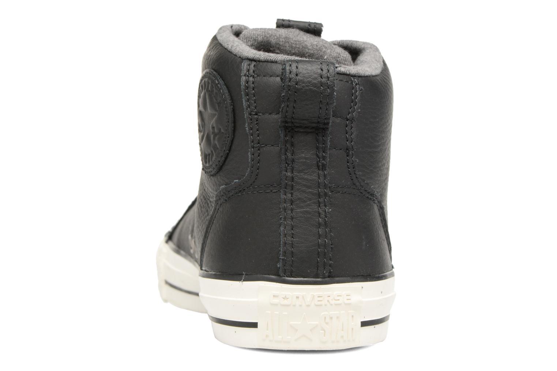 Sneaker Converse Chuck Taylor All Star Asylum Mid Leather schwarz ansicht von rechts