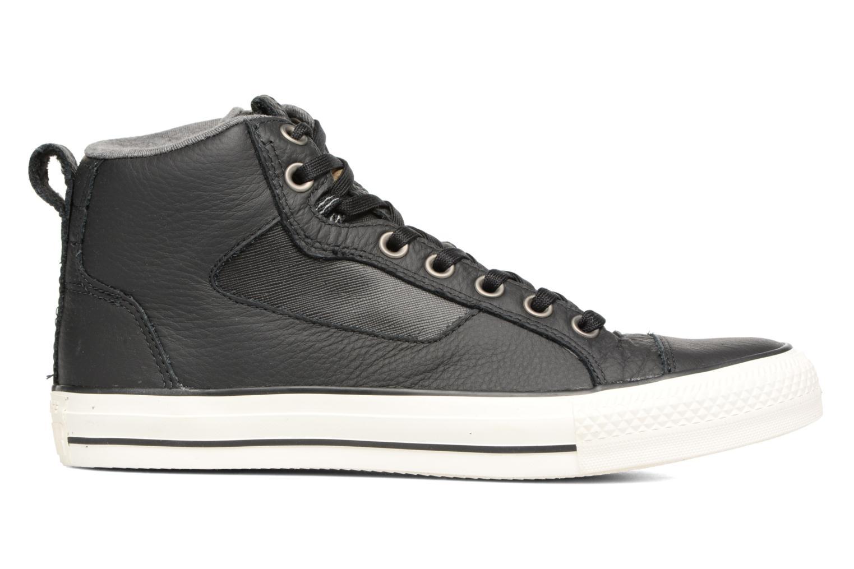 Sneaker Converse Chuck Taylor All Star Asylum Mid Leather schwarz ansicht von hinten