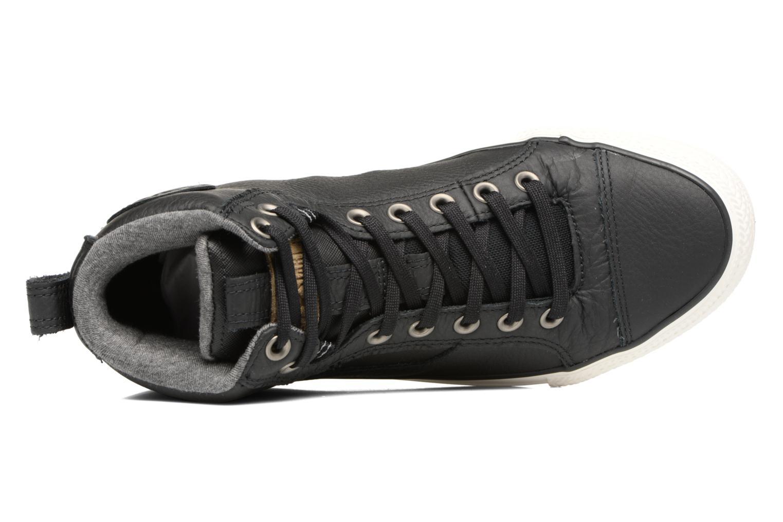 Sneaker Converse Chuck Taylor All Star Asylum Mid Leather schwarz ansicht von links