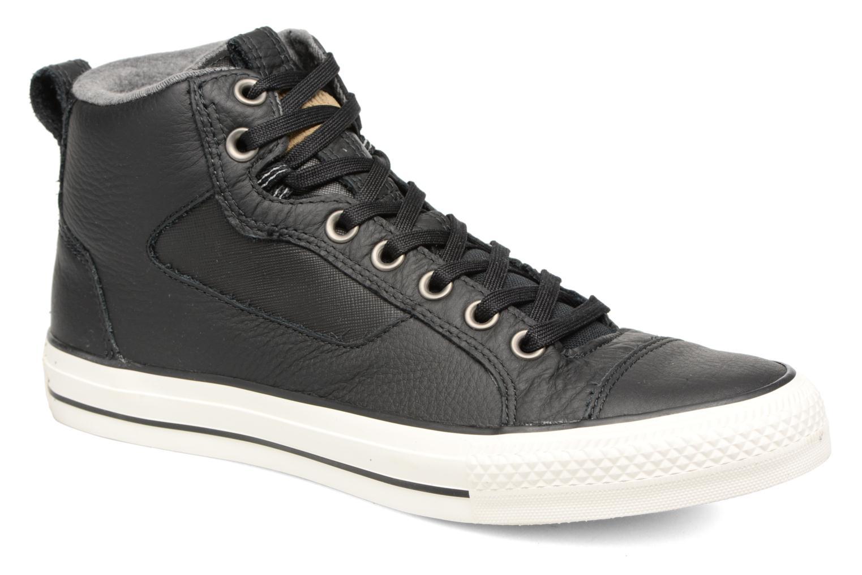 Sneaker Converse Chuck Taylor All Star Asylum Mid Leather schwarz detaillierte ansicht/modell