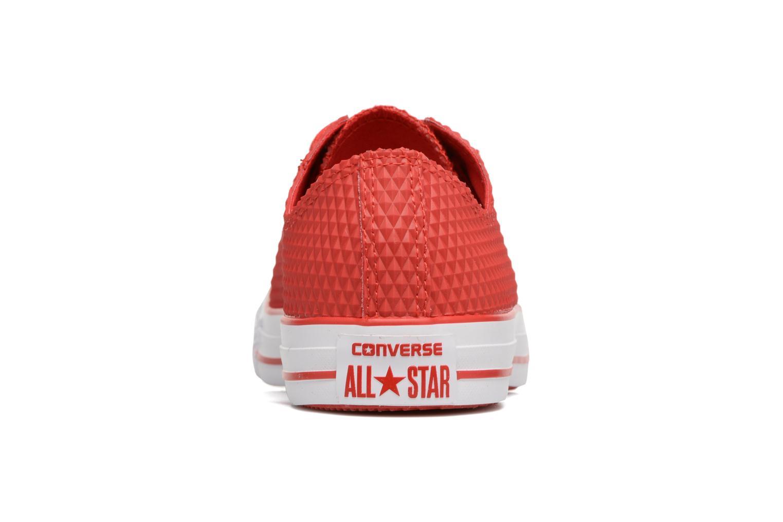 Sneaker Converse Ctas Pro Ox rot ansicht von rechts