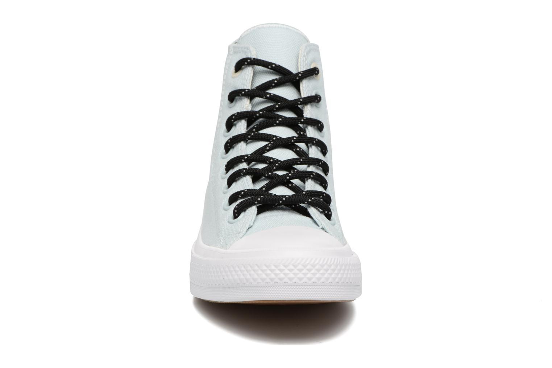 Sneaker Converse Chuck Taylor All Star II Hi Shield Lycra M blau schuhe getragen