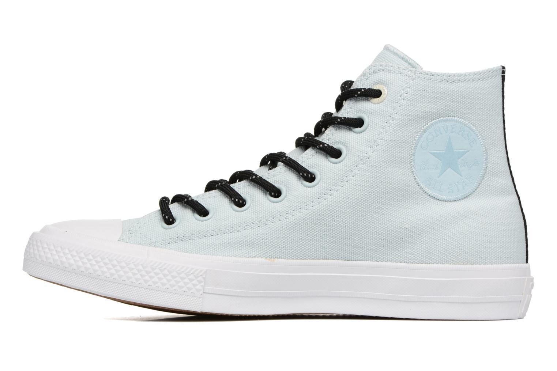Sneaker Converse Chuck Taylor All Star II Hi Shield Lycra M blau ansicht von vorne