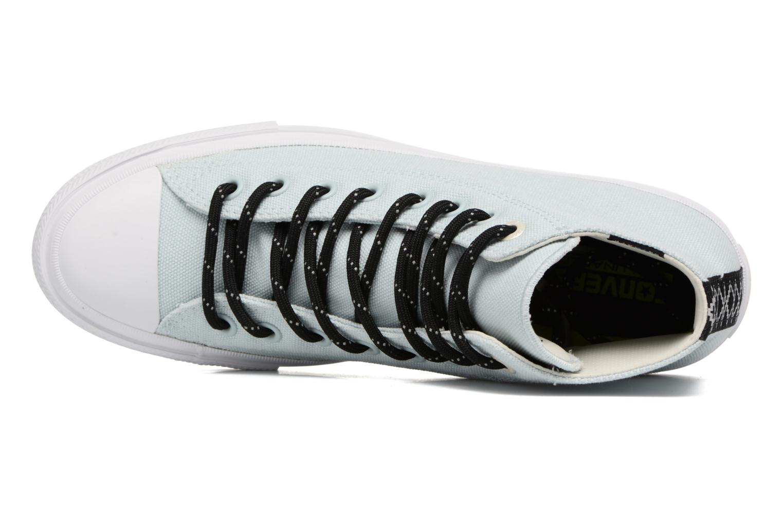 Sneaker Converse Chuck Taylor All Star II Hi Shield Lycra M blau ansicht von links