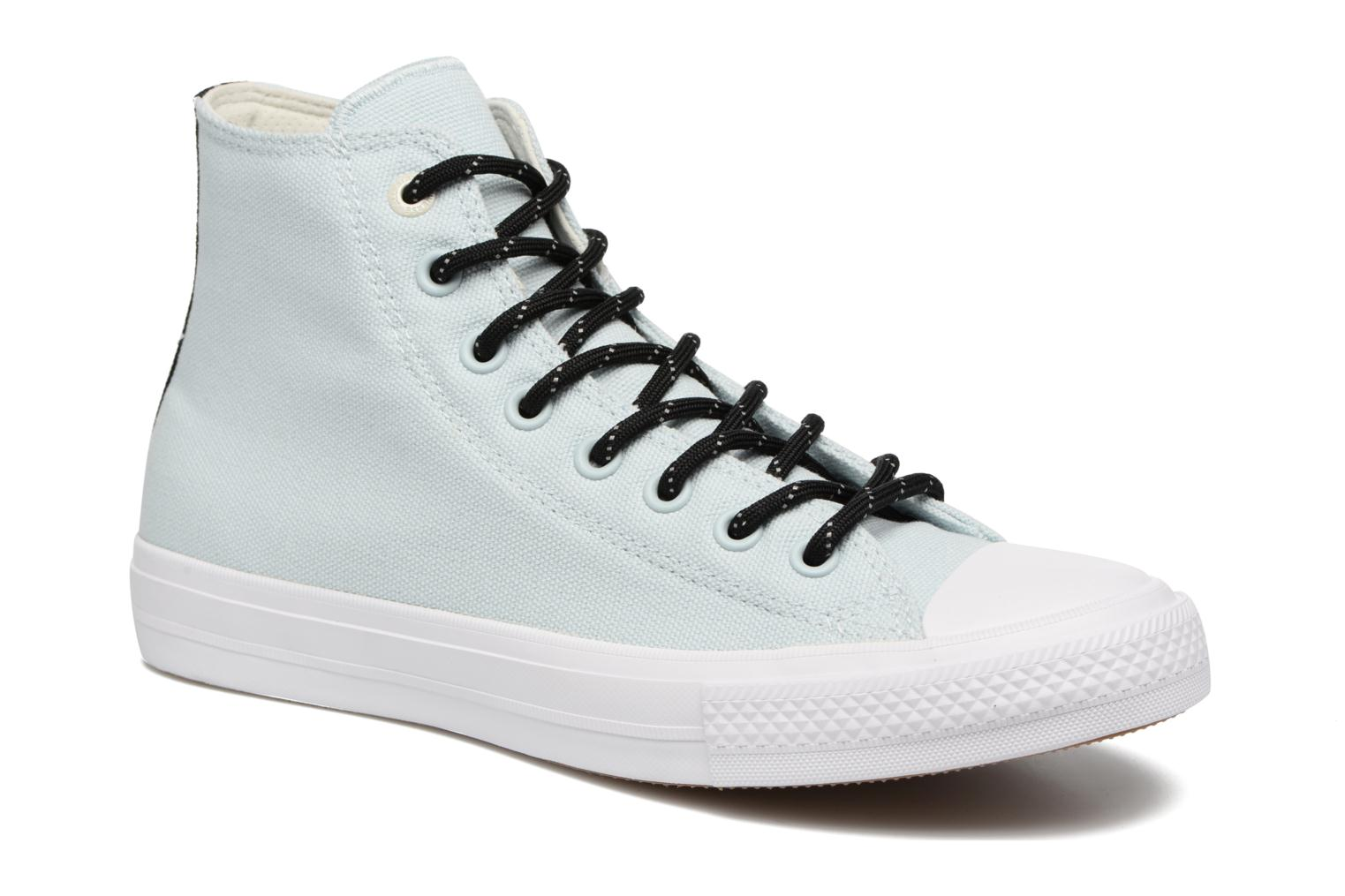 Trainers Converse Chuck Taylor All Star II Hi Shield Lycra M Blue detailed view/ Pair view