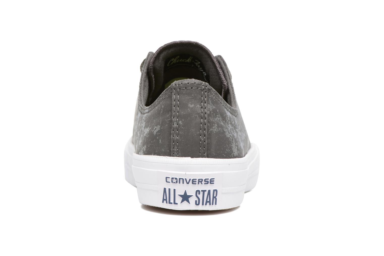 Deportivas Converse Chuck Taylor All Star II Ox Reflective Wash W Gris vista lateral derecha