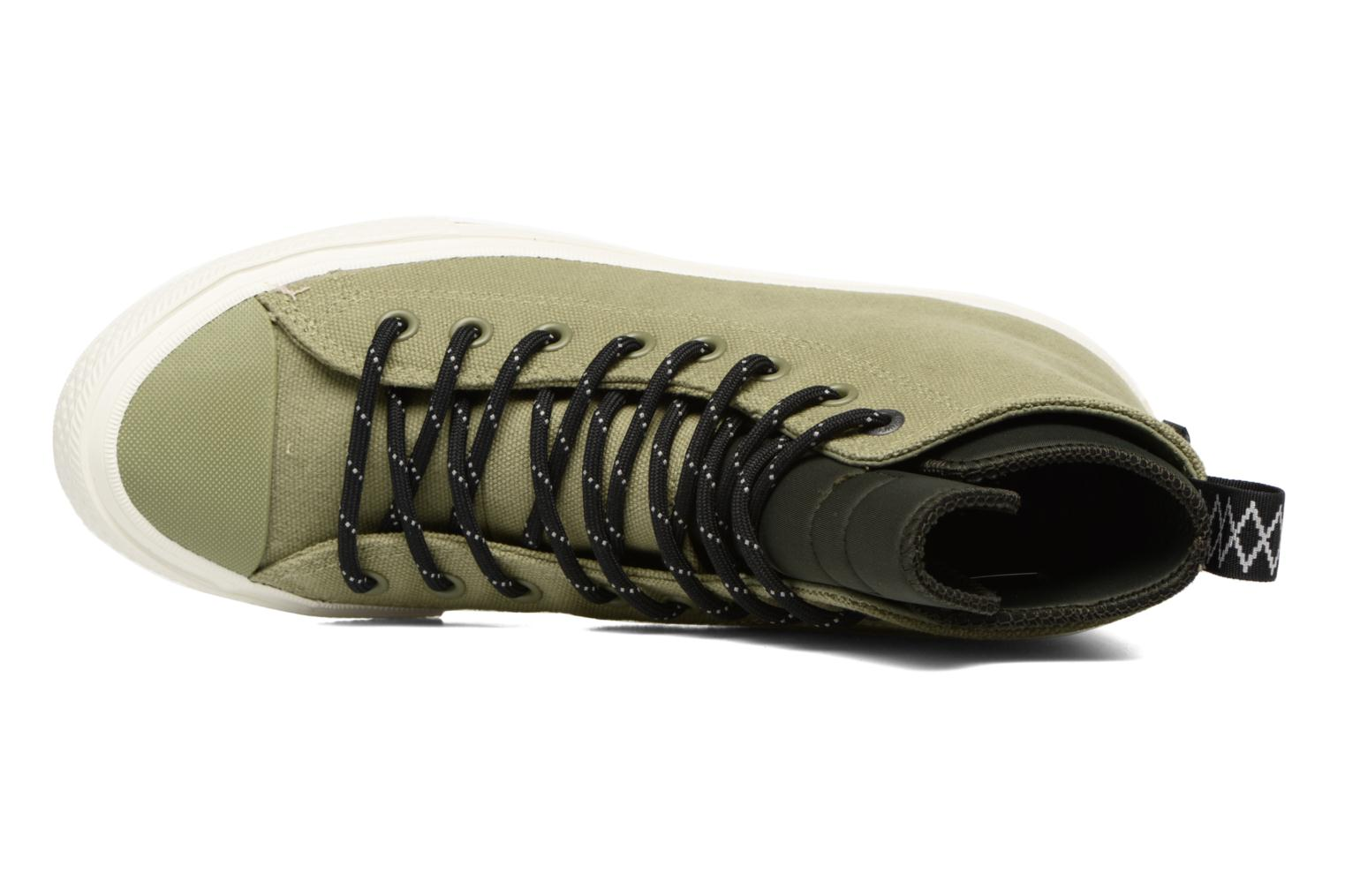 Sneakers Converse Chuck Taylor All Star II Hi Shield Canvas Boot M Verde immagine sinistra