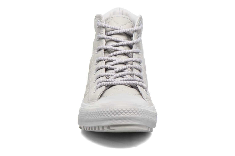 Sneaker Converse Chuck Taylor All Star Boot Pc Hi grau schuhe getragen