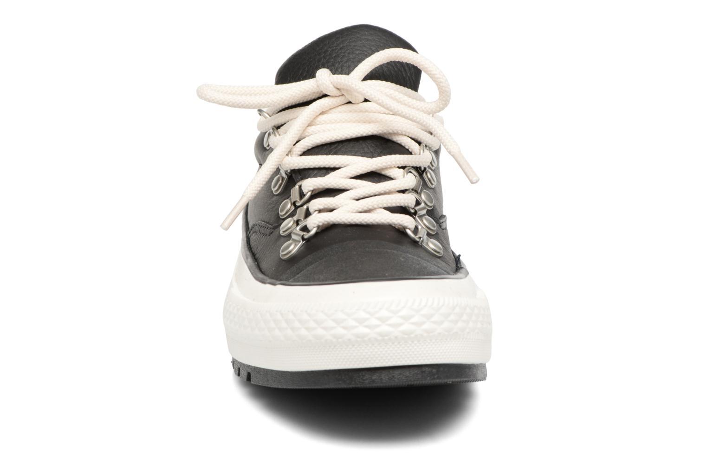 Sneaker Converse Chuck Taylor All Star Descent Quilted Leather Ox W schwarz schuhe getragen