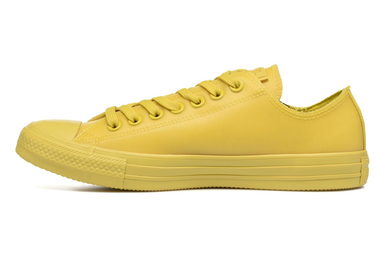 Sneaker Converse Chuck Taylor All Star Rubber Ox gelb ansicht von vorne