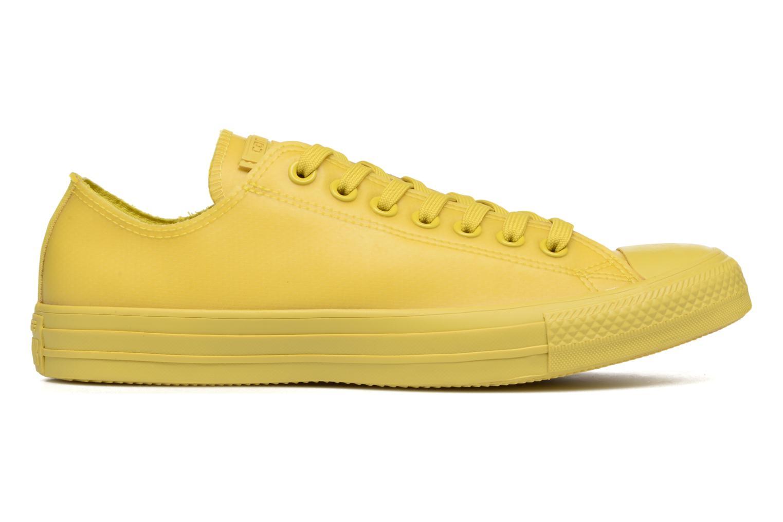 Sneaker Converse Chuck Taylor All Star Rubber Ox gelb ansicht von hinten