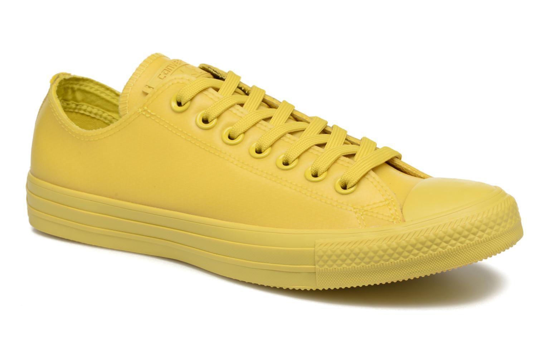 Sneaker Converse Chuck Taylor All Star Rubber Ox gelb detaillierte ansicht/modell