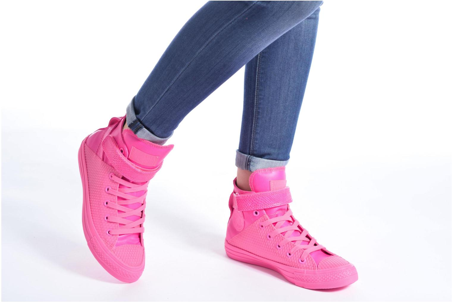 Chuck Taylor All Star Brea Hi W Pink Sapphire/White/Mouse