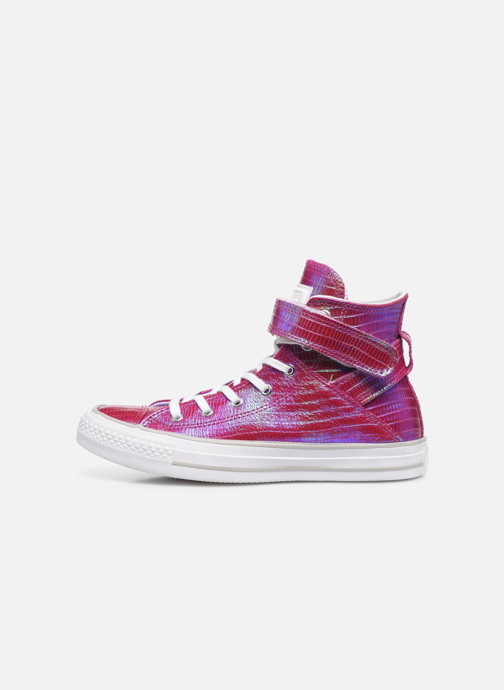 Sneakers Converse Chuck Taylor All Star Brea Hi W Rosa immagine frontale