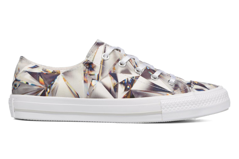 Sneakers Converse Chuck Taylor All Star Gemma Hi Graphic Argento immagine posteriore