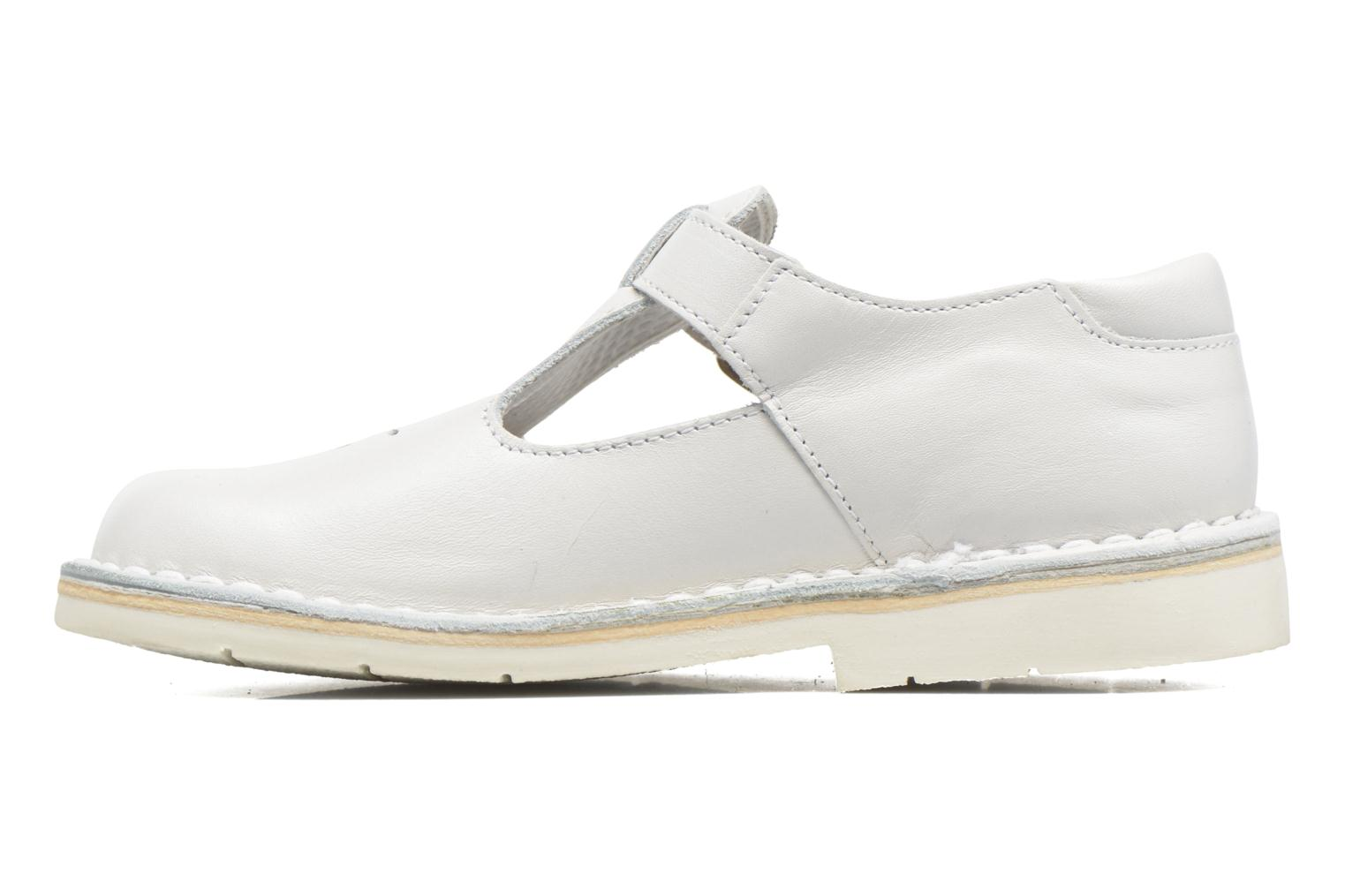 Ballet pumps GBB Knepa White front view