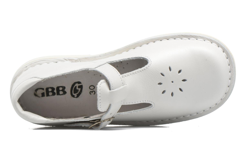 Ballerines GBB Knepa Blanc vue gauche