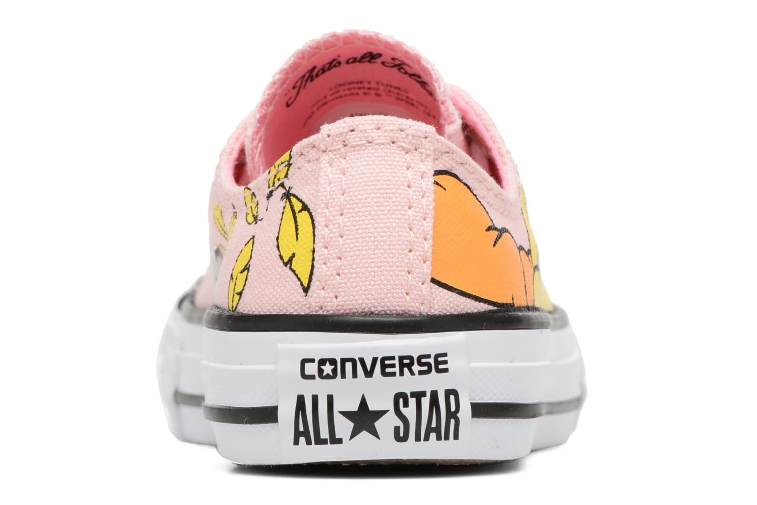 Chuck Taylor All Star Ox Vapor Pink White Black