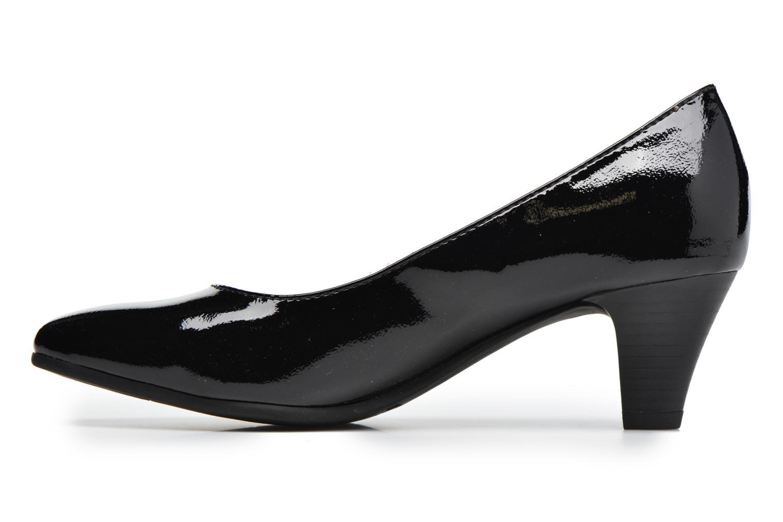 Escarpins Jana shoes Violetta Noir vue face