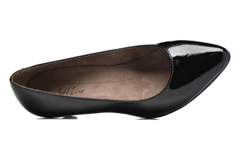 Escarpins Jana shoes Violetta Noir vue gauche